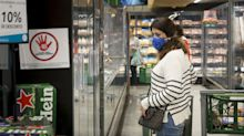 Movimento nos supermercados está voltando ao normal após coronavirus