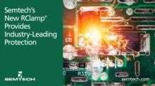 Semtech's New RClamp® Array Provides Industry-Leading Protection for LVDS, Ethernet and USB 3.x Interfaces