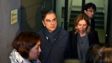 Bailed Ghosn speaks to wife after Japan court permission