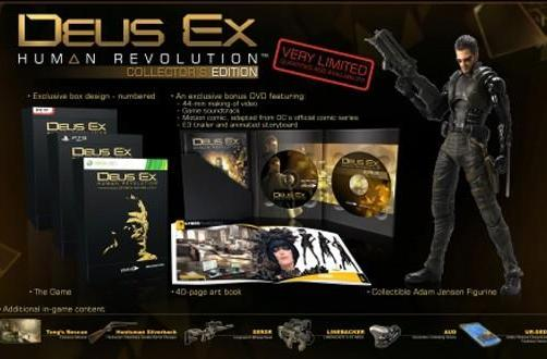 Deus Ex: Human Revolution gets 'very special edition' in select territories