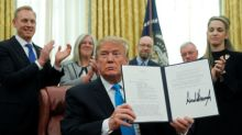 Trump signs directive in step to create U.S. Space Force