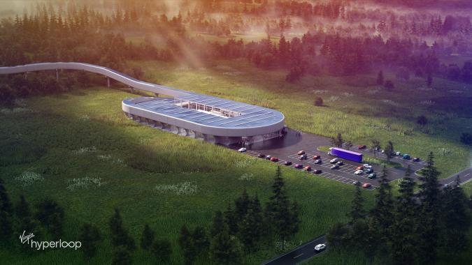 Hyperloop Certification Center, Charleston, West Virginia