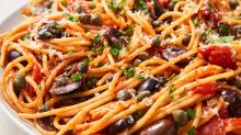 Pasta Puttanesca Is A Classic Italian Flavor Bomb