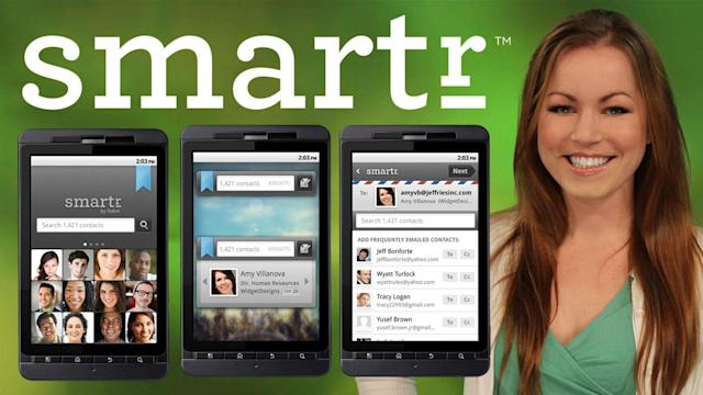 Galaxy Nexus, iTunes Match and Get an Ice Cream Sandwich Like Address Book NOW with Smartr for Android - AppJudgment @ Revision3