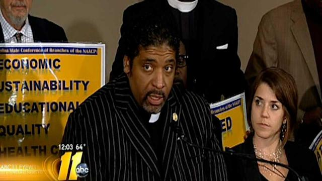 NC NAACP announce rally, new round of protests
