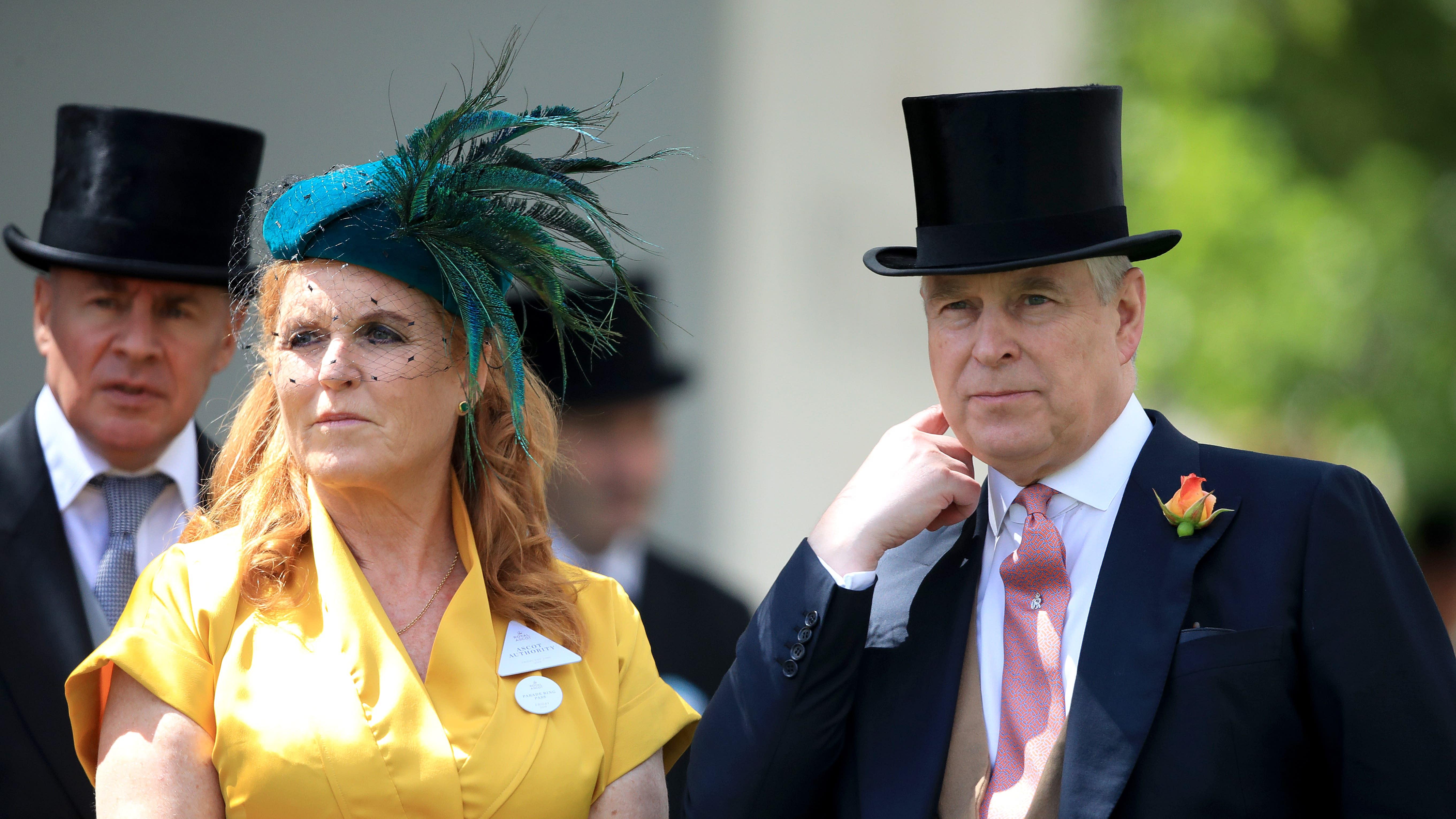 Duchess of York praises 'steadfast' Andrew ahead of Epstein interview