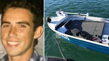 Frantic search for man, 26, after abandoned boat found