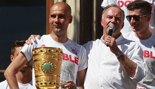 """Bundesliga: Rummenigge: """"Pep war 2014 übermotiviert"""""""