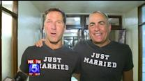 Same-Sex Couples Line Up For Walk-In Weddings