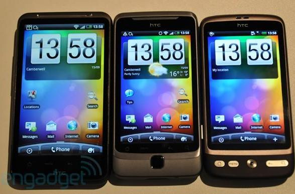 HTC Desire Z Gingerbread update rolls out in the land of the Bratwurst