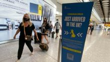 90% downturn in visitors booked on flights into UK