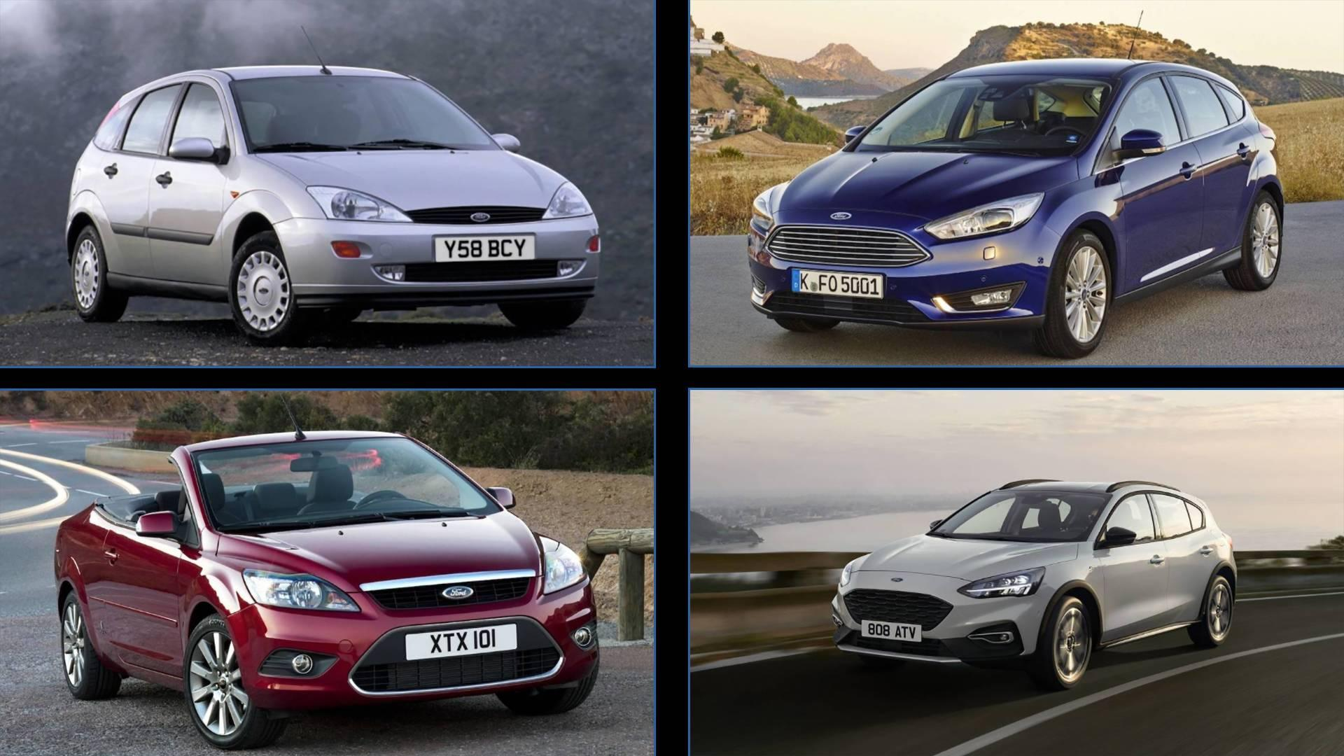 the ford focus a look through the compact car s history. Black Bedroom Furniture Sets. Home Design Ideas