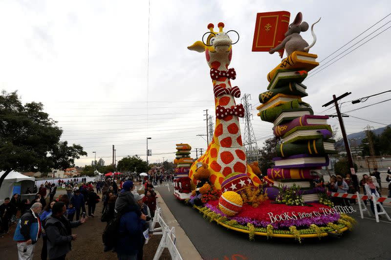 Rose Parade in California canceled for first time in 76 years due to coronavirus
