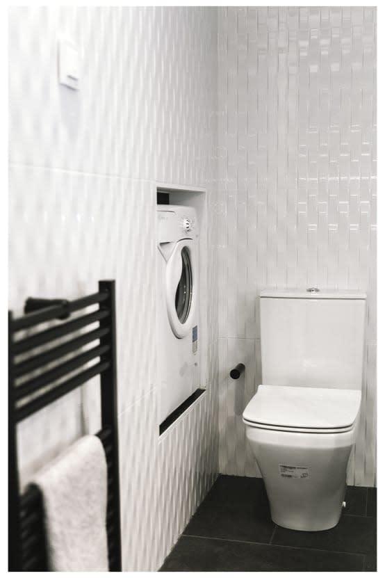 Nascondere la lavatrice in bagno e in cucina 27 idee - Lavatrice in cucina ...