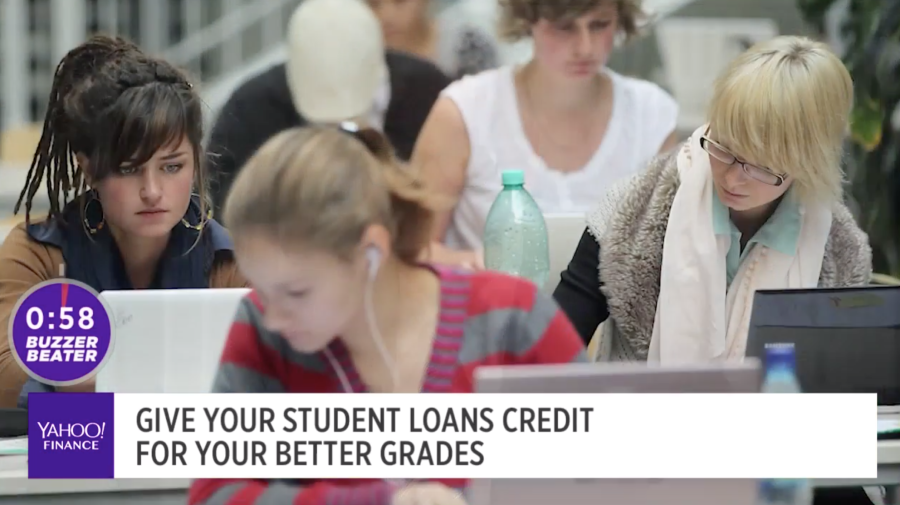 Give your student loans credit for your better grades