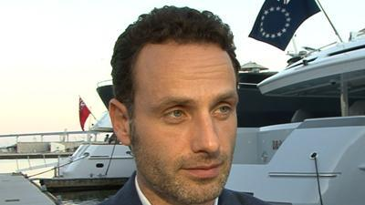 Andrew Lincoln Dishes On 'The Walking Dead'