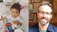 Ryan Reynolds, NHL Players Donate To Help Edmonton Toddler Get $2.8 Million Cure