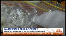 Sewage study reveals alarming increase in Australia's drug use