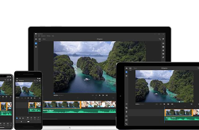 Adobe launches Premiere Rush CC for YouTube creators