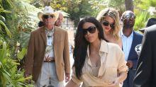El Klan Kardashian: día de celebración familiar en el hipódromo