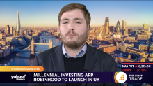 Millennial investing app Robinhood to launch in UK