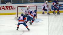 No-look pass by Cizikas sets up Clutterbuck