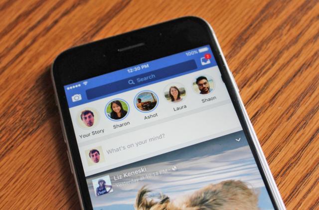 Facebook is testing Stories beside your desktop News Feed