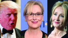 J.K. Rowling weighs in hard on the Donald Trump/Meryl Streep feud