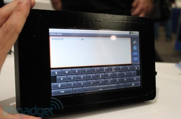 Tactus' morphing smartphone and tablet display hands-on