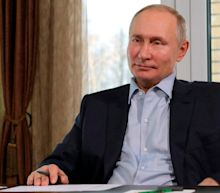 Putin calls pro-Navalny protesters 'terrorists', rejects claims about Black Sea 'palace'