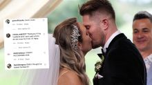 MAFS fans spot 'familiar face' at Bryce and Melissa's wedding