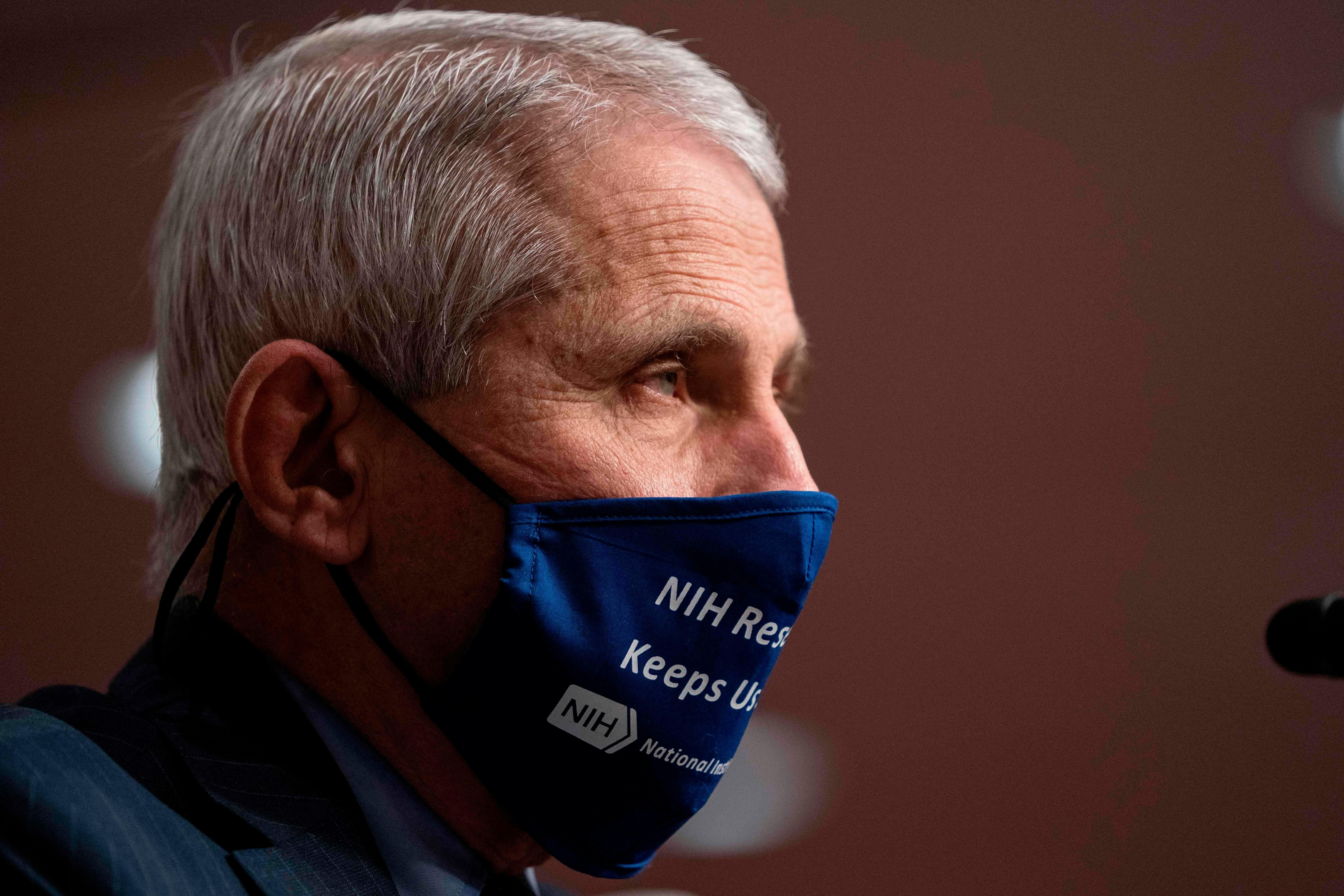 Fauci: Infections are too high to control surges