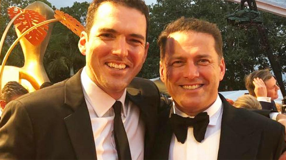 Peter Stefanovic thinks Karl is 'the biggest star in Australia'