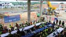 Hoar Construction And LMC Celebrate Topping Out One Of The Tallest Buildings In Northern Virginia