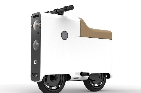 BOXX electric bike: two wheels, four corners, all-electric transport for one