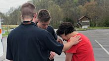 'I just need some prayer': First responders stop to pray with woman in distress