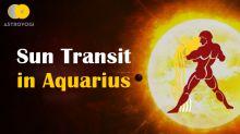 The Sun Transit into Aquarius on 12 February 2021