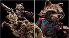 超正《銀河守護隊》浣熊、樹人1/4雕像 兇狠造型即日預訂