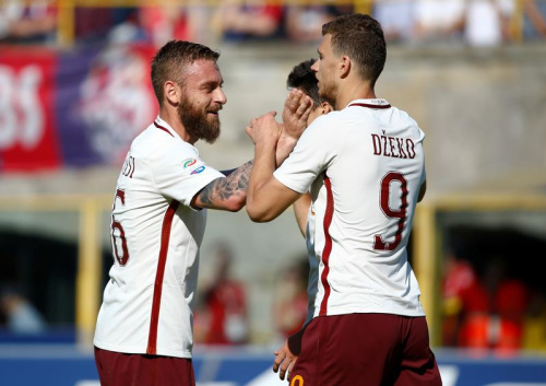 La Roma déroule, l'AC Milan cartonne