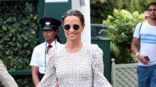 Pippa Middleton rocks ruffled maternity dress as Kate and Meghan plan Wimbledon trip