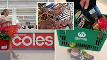 'Where's the $20 lobster?' Coles and Woolworths slammed as shoppers miss out