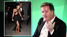 Piers Morgan hits out at Kim Kardashian's extreme cut-out gown