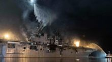 Navy's Top Admiral Won't Yet Say if Bonhomme Richard Will Be Repaired After Fire