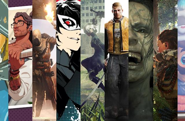 The best games of 2017