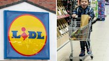 Lidl launches 'fun size' trolleys so kids can help their parents do the weekly shop