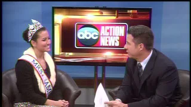 Local Beauty Queen's efforts to fight blindness