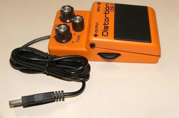 Boss turns DS-1 Distortion pedal into USB mouse, changes the game forever