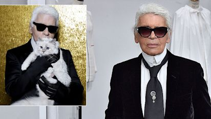 Karl Lagerfeld's cat and 11-year-old godson 'set to inherit' designers $150 million fortune