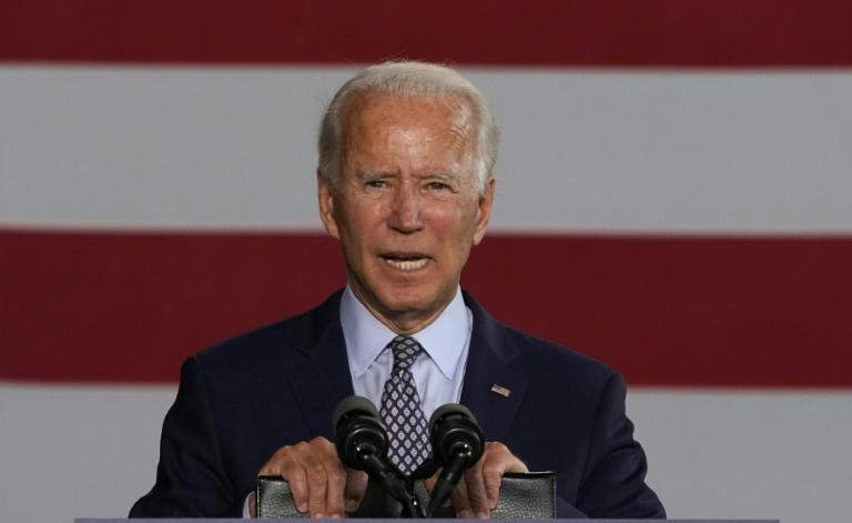 Joe Biden, pictured in July 2020, has promised he will choose a woman to join his ticket