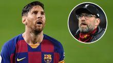 Liverpool, Klopp veut voir Messi en Premier League